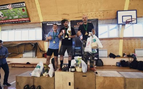 Битва Сибири 2017 - награждение победителей