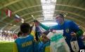 Команда юных футболистов из Казахстана