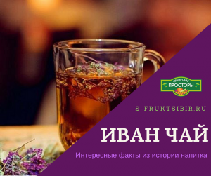 Иван-чай - чудо-напиток или чай из Копорья (копорский чай) - аналог заморскому ферментированному чаю.