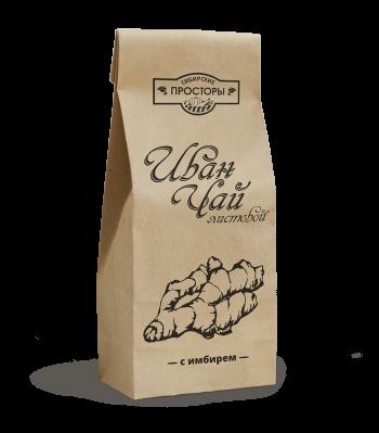листовой иван-чай с имбирем купить, Сибирские просторы