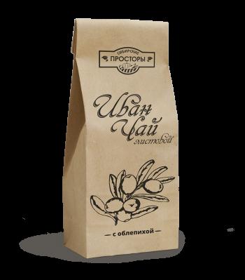 Листовой иван-чай с сушеной облепихой купить