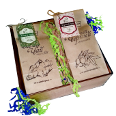 подарочный набор чая в деревянной коробке